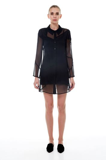Picture of Chiffon Shirt Dress