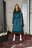 Picture of Satin Look Trench Coat