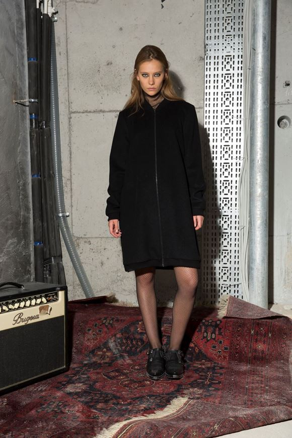 Picture of Longline Bomber Coat