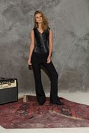 Picture of Maxi Flare Trousers