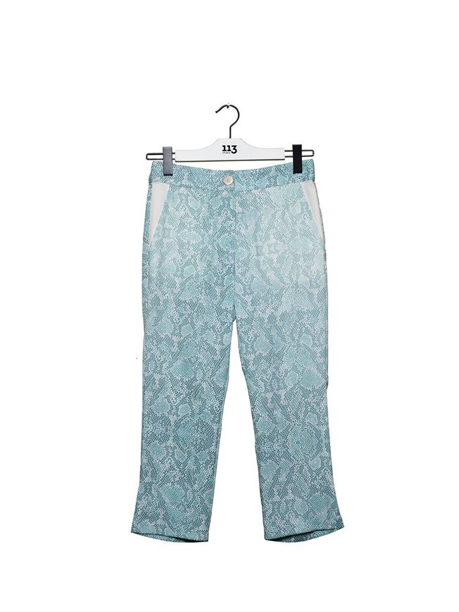 Picture of Snakeskin Print Trousers