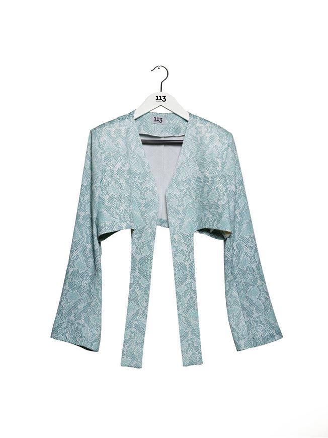 Picture of Snakeskin Print Jacket
