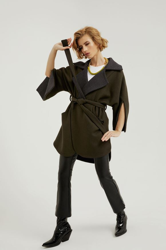 Picture of Reversable Cut-Out Cuff Coat