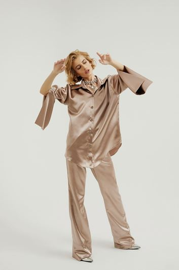 Picture of Satin PJ Shirt