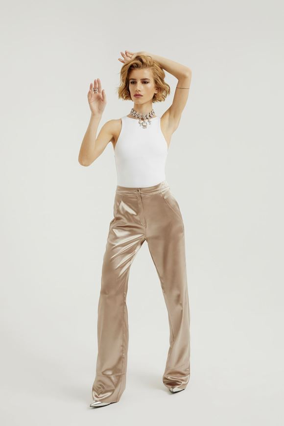 Picture of Satin PJ Trousers